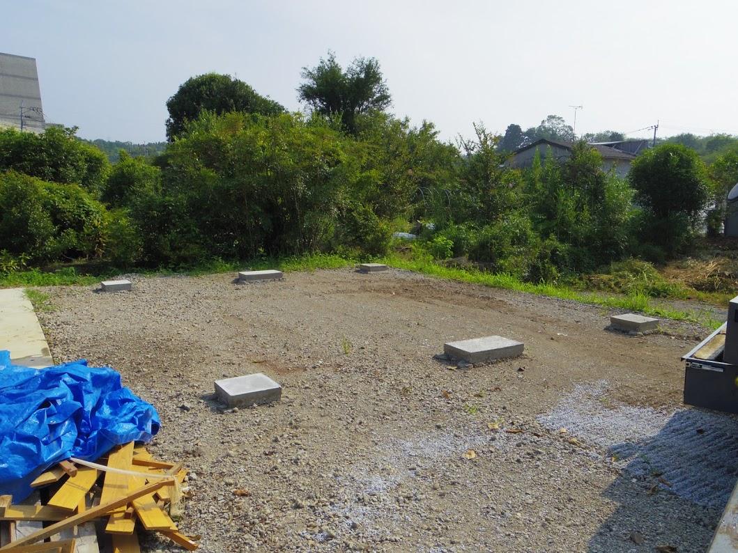 熊本20DV敷石設置