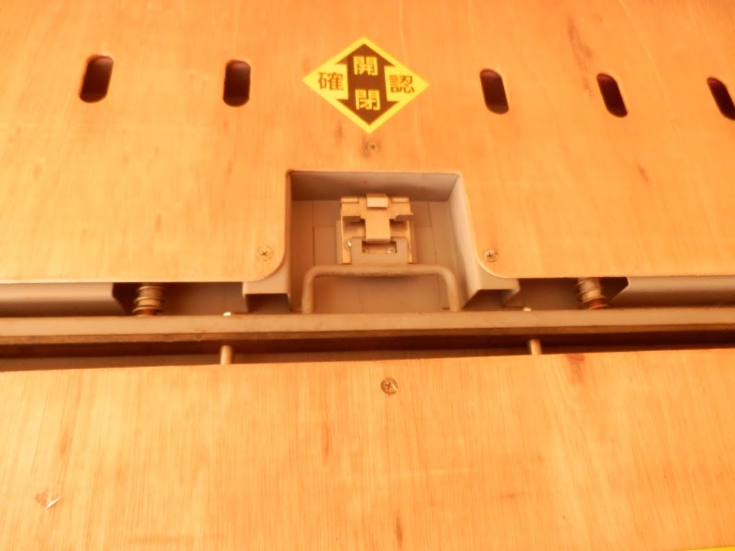 JRコンテナ通気口内側
